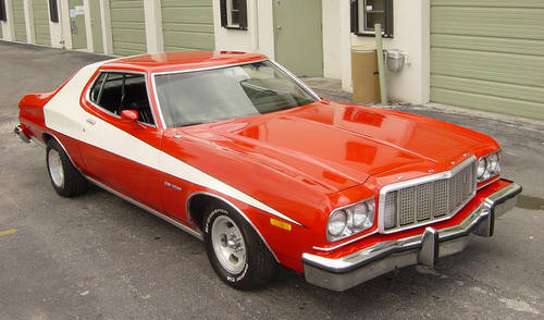 Starsky and Hutch's 1976 Ford Gran Torino