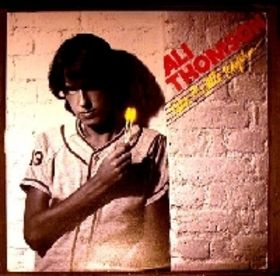 Ali Thomson debut album featuring Take a Little Rhythm from 1980