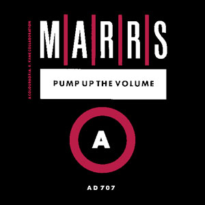 Pump up the Volume by Marrs features Pump Up the Volume, a hip hop one hit wonder
