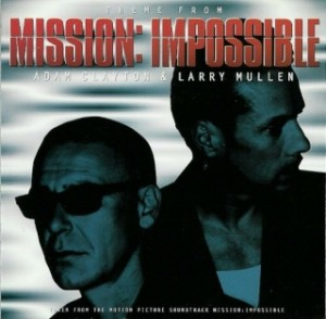 Theme from Mission: Impossible – Adam Clayton and Larry Mullen