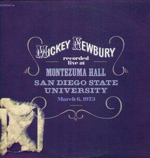 mickey-newbury-live-at-montezuma-hall album cover
