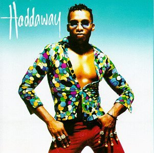 Haddaway album cover features What is Love