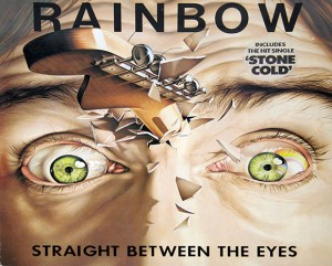 Straight Between the Eyes by Rainbow