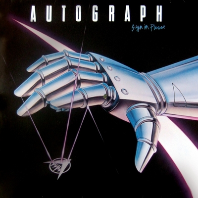 Sign in please by autograph features turn up the radio